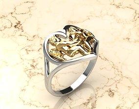 3D print model Family Ring
