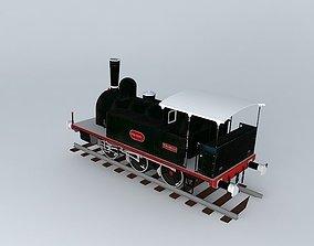 3D model Locomotive in Miranda de Ebro