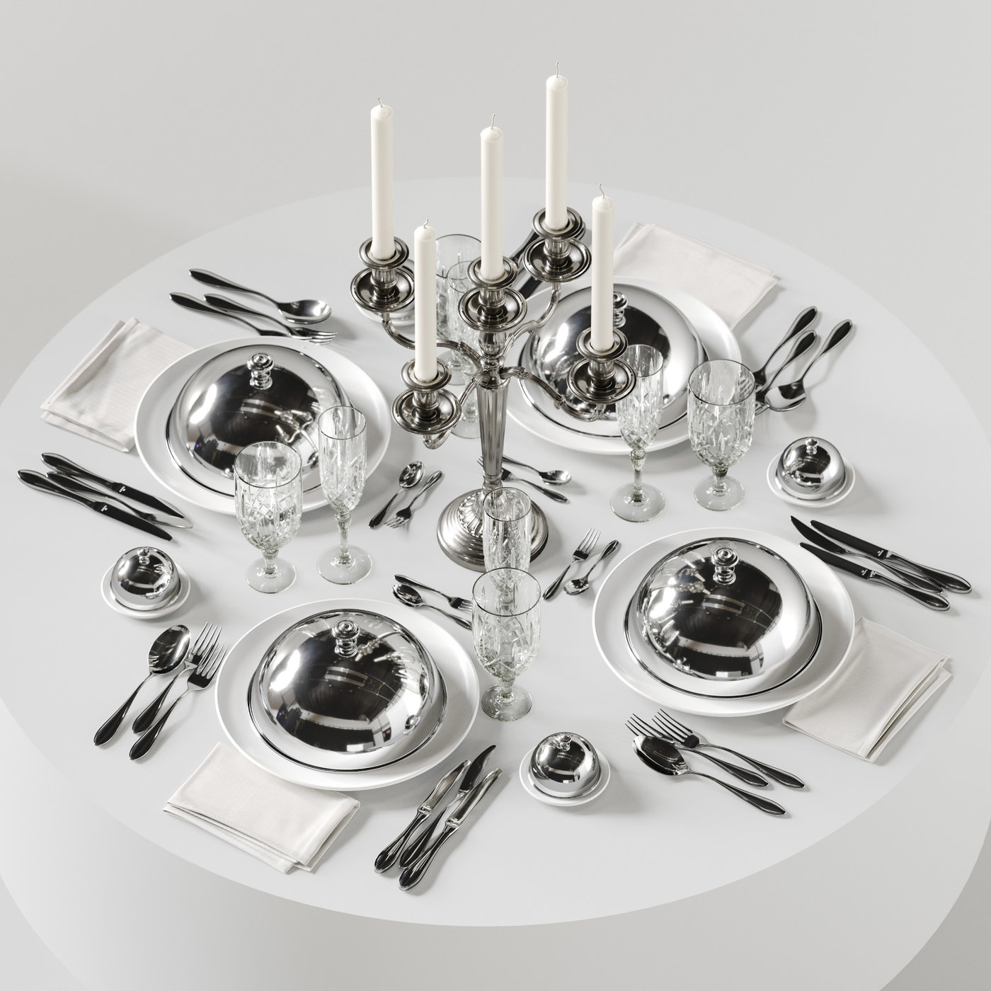 table setting 5a 3D model
