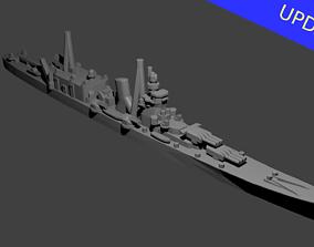 3D printable model Japanese Cruiser Oyodo Warship