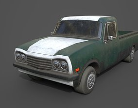 Generic PickUp Green 3D model