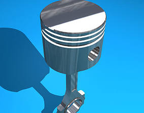 Piston camshaft 3D