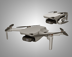 3D asset DJI Mavic Mini