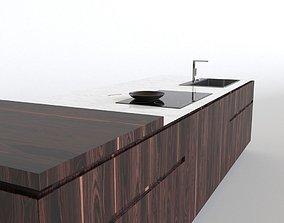 Cesar Elle kicthen island 3D model
