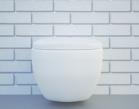 3D model realtime toilet