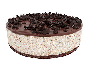 Espresso cheesecake 3D model