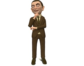 animated Regular man 2 stylized rigged animated game 3d