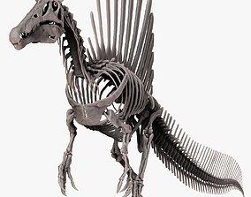 Spinosaurus 2020 version Full Set Skeletons Sculpt 3D