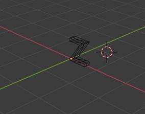 letter Z 3D model