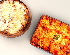 lunch Lasagna 3D model