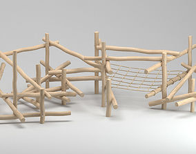 3D model Playground Climbing Structure