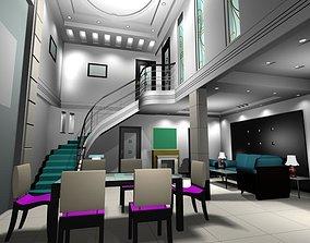 building-interior Living Room 3D