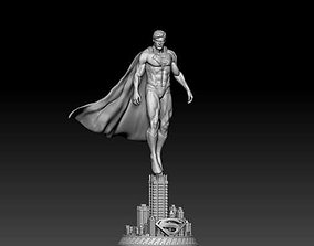 Reeves superman and kent superman bust by 3D print model