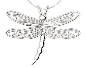 Dragonfly Pendant 3D printable model
