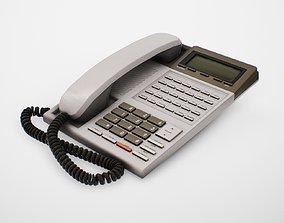 Old Office Telephone 3D model