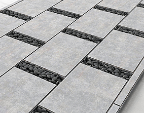 3D Paving title pebble smooth