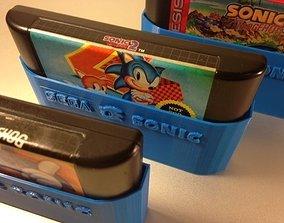 SEGA Sonic cartridge sleeves 3D print model