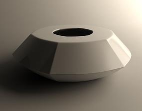 3D print model Flowerpot for small vegetation 3