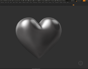 valentine Heart Shape 3D print model