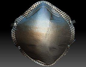 Construction Particulate Dust Mask 3D model