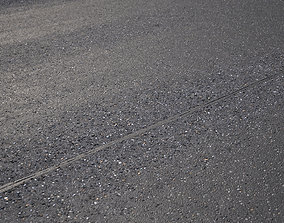 Large area seamless new road texture 3D