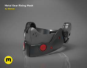 3D print model Gear Metal Rising Mask