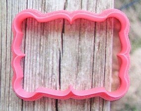 Plate 43 cookie cutter for professional 3D print model
