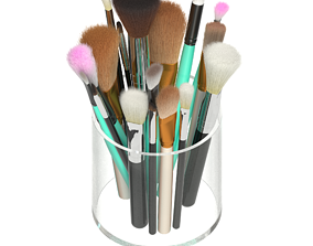 3D Makeup brush organizer