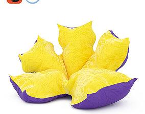 Puff Flower 3D