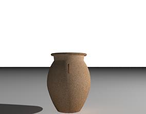 Ancient Antique Vase Pottery Jug 3D