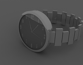 3D model Simple Modern Hand Watches