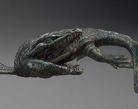 Dakosaurus SeaMonster Series1 3D asset animated