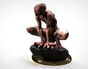 GOLLUM - THE HOBBIT - THE LORD OF THE 3D printable model 1