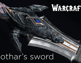 3D printable model Lothar s sword from Warcraft movie