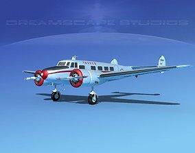 3D model Lockheed L10 Electra Texeco Oil