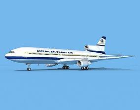 3D Lockheed L-1011 American Trans Air 1