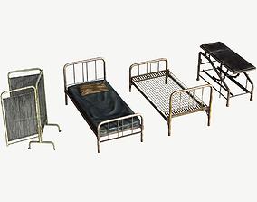 3D model Infirmary Furniture Set