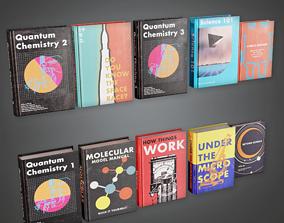 3D model CLA - School Books - PBR Game Ready
