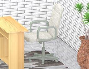 wood Chair model 1