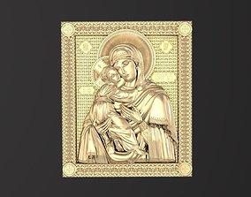 Russian icon religion 3D print model