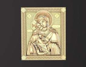 Russian icon religion 3D print model