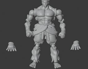 KAGE SFV Articulated 3D print model