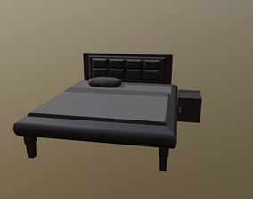 Bed and little prop 3D model