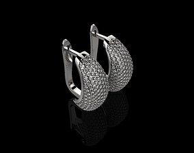 3D print model M EARRINGS N9