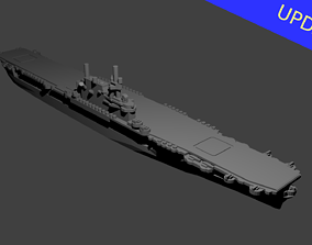 3D printable model US Yorktown Class Aircraft Carrier