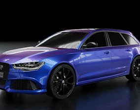 Audi RS6 3D animated