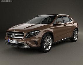 3D Mercedes-Benz GLA-class 2014
