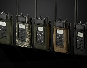 3D asset Radio pouch