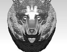 figurines 3D printable model Bear head