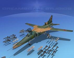 3D Mig-27 Flogger V08 Russia